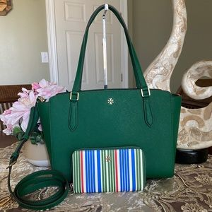 Tory Burch SM tote & wallet